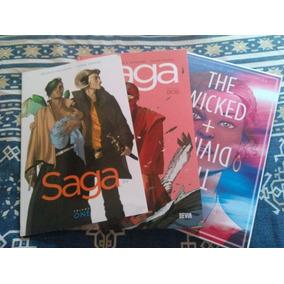 Saga + The Wicked And The Divine (encadernados)