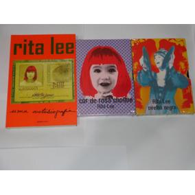 Dvds + Livro Autobiografia Rita Lee Ovelha Negra Cor De Rosa