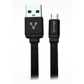 Cable Usb Vorago - Negro, Usb 2.0, Macho / Macho, 1 M, Micro