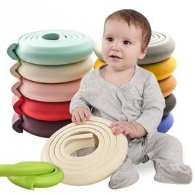 Protetor Quina Canto Cantoneira Segurança Bebê Rolo C/ 2 M