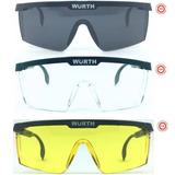 d4e7a8c571a2a Óculos Segurança Proteção Epi Rj Ca34082 Wurth Fume Amarelo