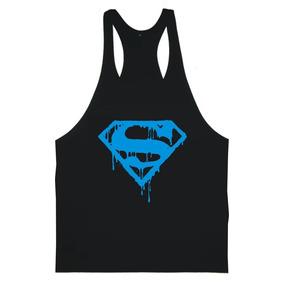 Regata Masculina Superman Cavada Fitness Academia Onizzon c54a1e6b515