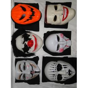06 Mascara Mortais Vingança Abobora Palhaço Coringa Slipknot