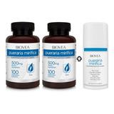 Pueraria Mirifica 200 Cápsulas + 1 Creme Pueraria