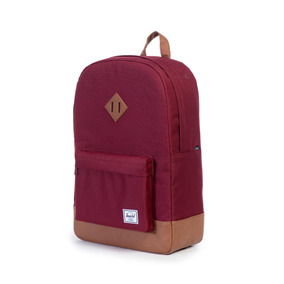 Mochila Herschel Supply Heritage Windsor Wine/tan Synthetic