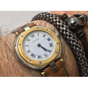 4815c266343 Relógio Cartier Santos Dumont - Relógios De Pulso no Mercado Livre ...