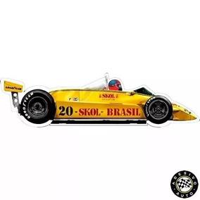 Adesivo Skol Fittipaldi F8 1980 F1 Formula 1 Carros
