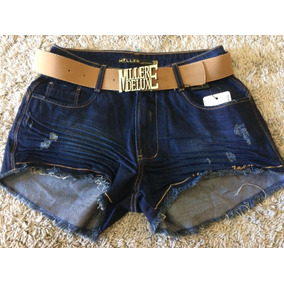 Shorts Miller Jeans Original Com Modelagem Levanta Bumbum!!