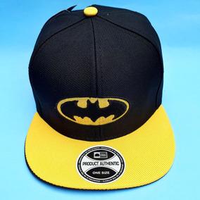 Bone Do Batman Infantil Aba Reta Juvenil Símbolo Do Batman 82176dcfe41