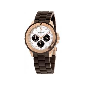 364713b0d2f Liv-1285- O Ciclo Do Ouro Masculino Bulova - Relógios De Pulso no ...
