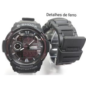 3e6802f0e83 Relógio Casio Vintage Preto De Ferro - Relógio Casio no Mercado ...