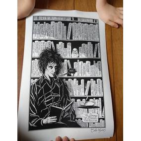 Print De Sandman Autografada Por Todd Klein