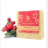 Jabon Artesanal Frutos Rojos Botanicus Refresca Hidrata Piel