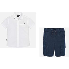 Mayoral Conjunto Camisa Y Short Niño Est. 6124 #8 Años