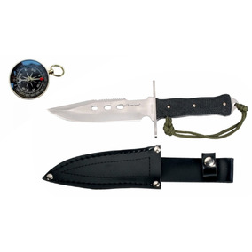 Brujula +cuchillo Full Tang M8276 Envio Gratis