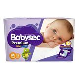 Pañales Babysec Premium Flexiprotect M 5- 9.5 Kg. X 52 U.