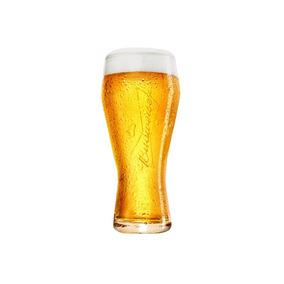 Copo Para Cerveja Em Vidro Budweiser 400ml Transparente
