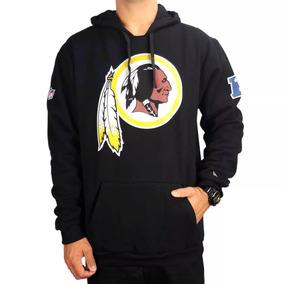 Moletom New Era Capuz Washington Redskins Preto 3042d95f7c088