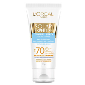 Solar Expertise Facial Toque Limpo Fps70 Loréal Paris - 50ml