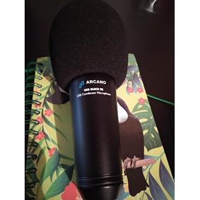 Microfone Usb Arcano Black 02