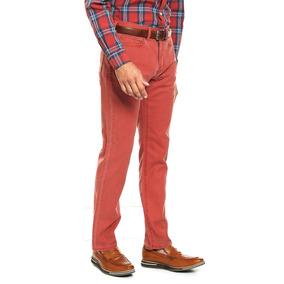 Dockers Pantalón Athletic Fit Rojo 28w X 32l Hombre
