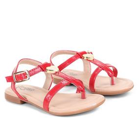 9fa821ca114 Sapato Infantil Klin Vermelho - Sapatos no Mercado Livre Brasil