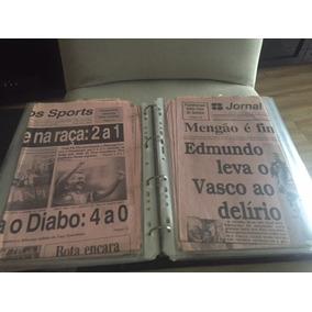 Pasta Vasco - 67 Pag. Com Jornais E Recortes De 1987 A 2000