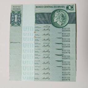 10 Notas De Um Cruzeiro Sequenciadas Anos 70 - Colecionador