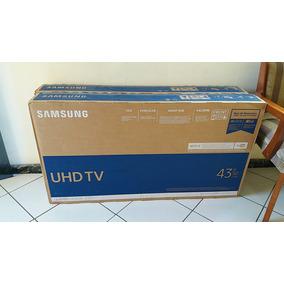 Smart Tv Samsung Uhd 4k 43 Pol 43mu6100 Nova