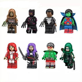 Arqueiro Verde Robin Psylocke Ajax Superman Pantera Negra