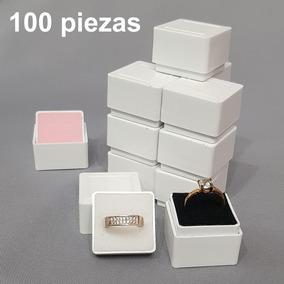 100 Cajas Plástica Para Anillo 801