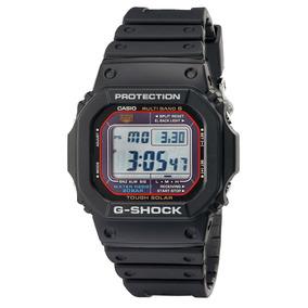 Reloj Casio Gwm5610-1 Solar Con Banda Blanca Para Hombre