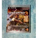 Juego Original Para Ps3 Uncharted 3 - Drake