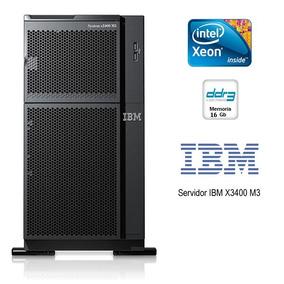Ibm System X3400 M3 2 Six Core E5645 2.4ghz 16gb 4 Hds 146gb