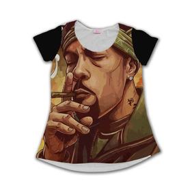 Camiseta Babylook Redman Aka Funk Doctor Spock Rap Weed Swag 505ac926d20
