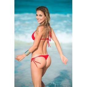 Traje De Baño Tanga Brasileña Hilo Dental Bikini 6728