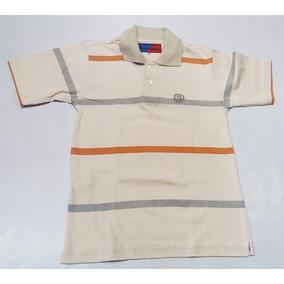 Camisa Polo Infantil Menino Smith Brothers Listrada Casual 64439af693733