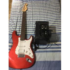 Guitarra Giannini Sonic X Series E Mini Amplificador G6 10w