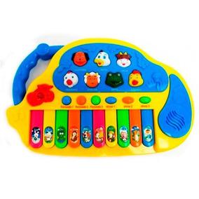 Teclado Musical Animais Tecladinho Infantil
