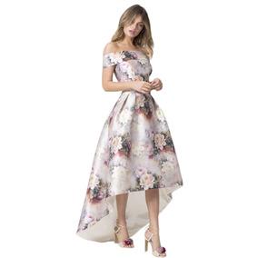 Sexy Elegante Vestido Largo Noche Fiesta Sin Hombros 610377