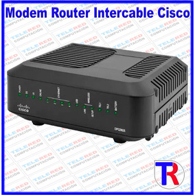 Modem Router Intercable Cisco Wifi 3.0 Linea Telefonica