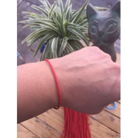 1 Pulsera Roja Tibetana Para La Buena Suerte.