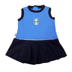 85e634583b20b Vestido Infantil Grêmio Regata Oficial
