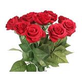 Hermososas Rosas Artificiales Calidad 100/100