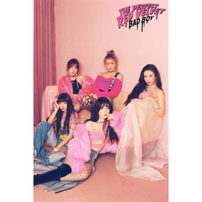 Kpop Kit Red Velvet - 10 Photocards + 1 Poster + 9 Adesivos