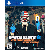 Payday 2 Crimewave Edition Ps4 Juego Playstation Digital 1°
