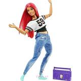Muñeca Barbie Made To Move Super Articulada Bailarina Curvy