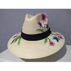 Sombreros Pintados A Mano - Accesorios de Moda en Mercado Libre México 1c4b201a076