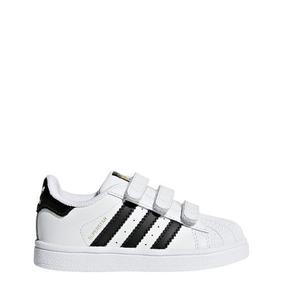 Zapatillas adidas Superstar Con Abrojo Bebes/niños- Origina