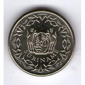 Surinam Moneda 10 Cents 1989 Sc Km#13a - Argentvs